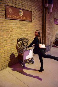 Going through wall on a platform 9 3/4!