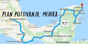 Plan potovanja: Mehika