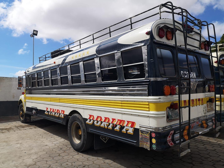 """""""Chicken bus"""" :)"""