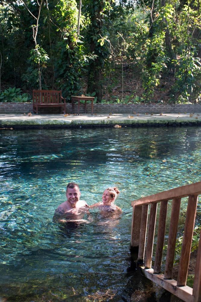 V naravnih toplicah (s Fernandom po Nikaragvi)