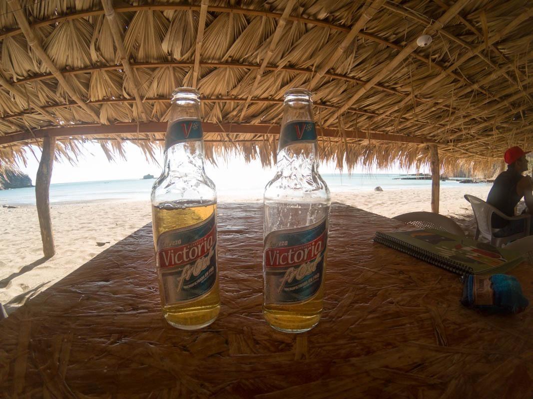 Victoria national beer (Nicaragua travel budget breakdown)