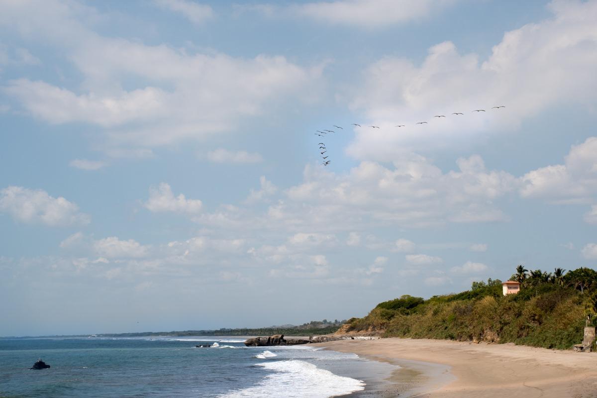 A sandy beach (Travel tips Nicaragua - transport)