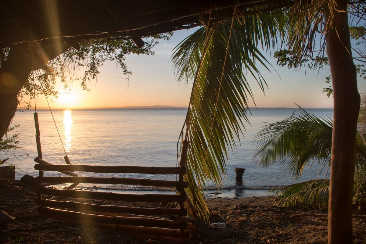 It is very peaceful on Ometepe Island....but mosquitos will keep you company :)