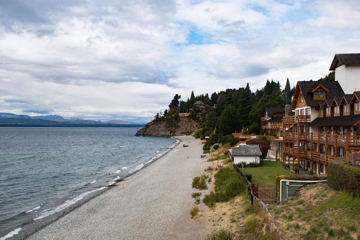 Hiške ob plaži