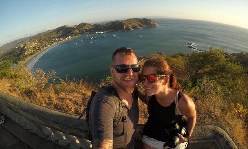 Us in Nicaragua