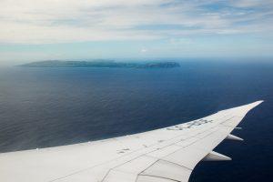 Pogled na Velikonočni otok iz letala