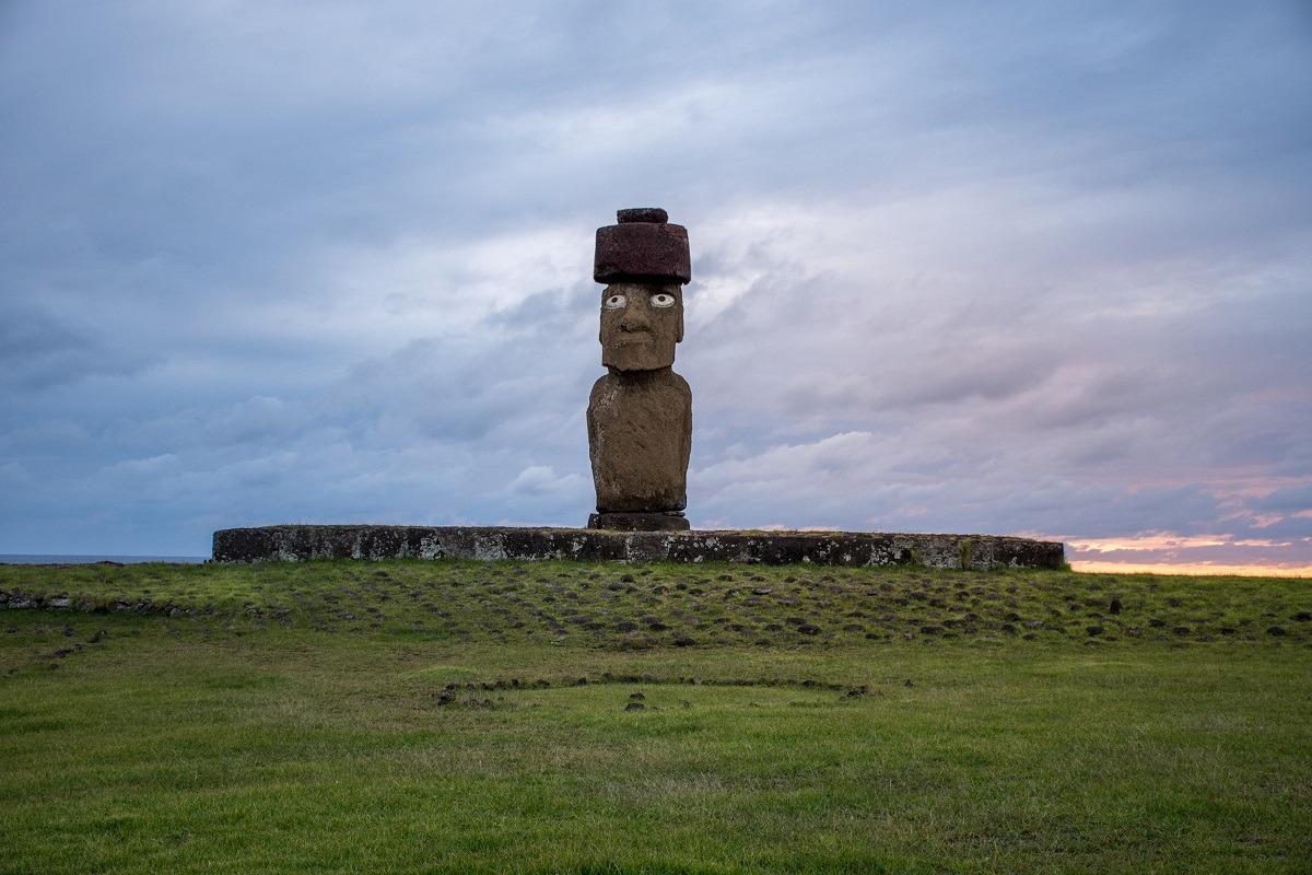 Moai - kip na velikonočnem otoku