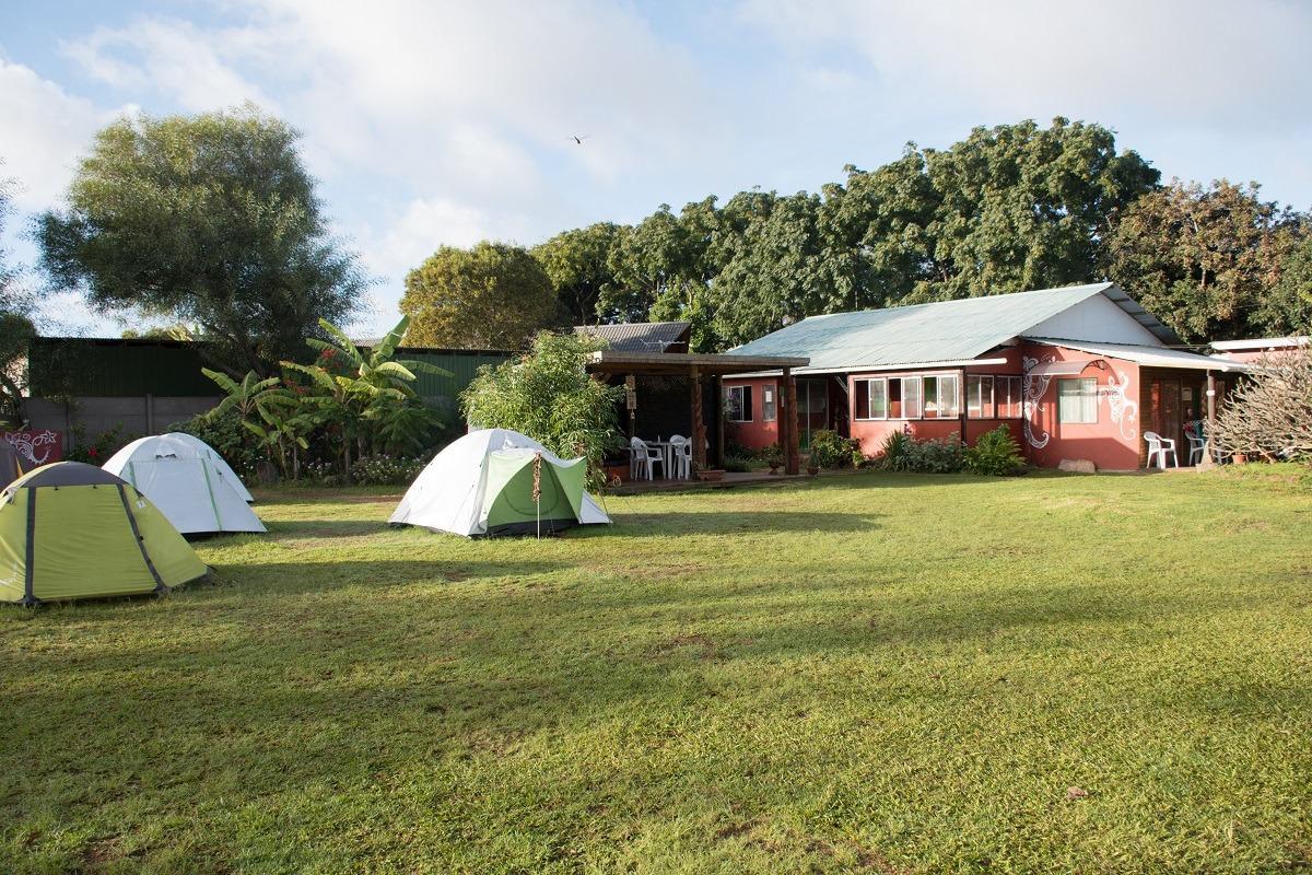 Slika hostla na Velikonočnem otoku