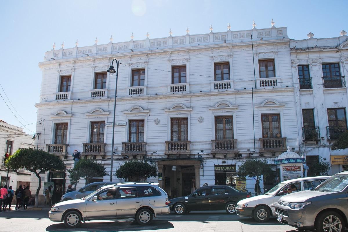 10 stvari, ki jih lahko počneš v Sucreju - pročelje muzeja zakladov
