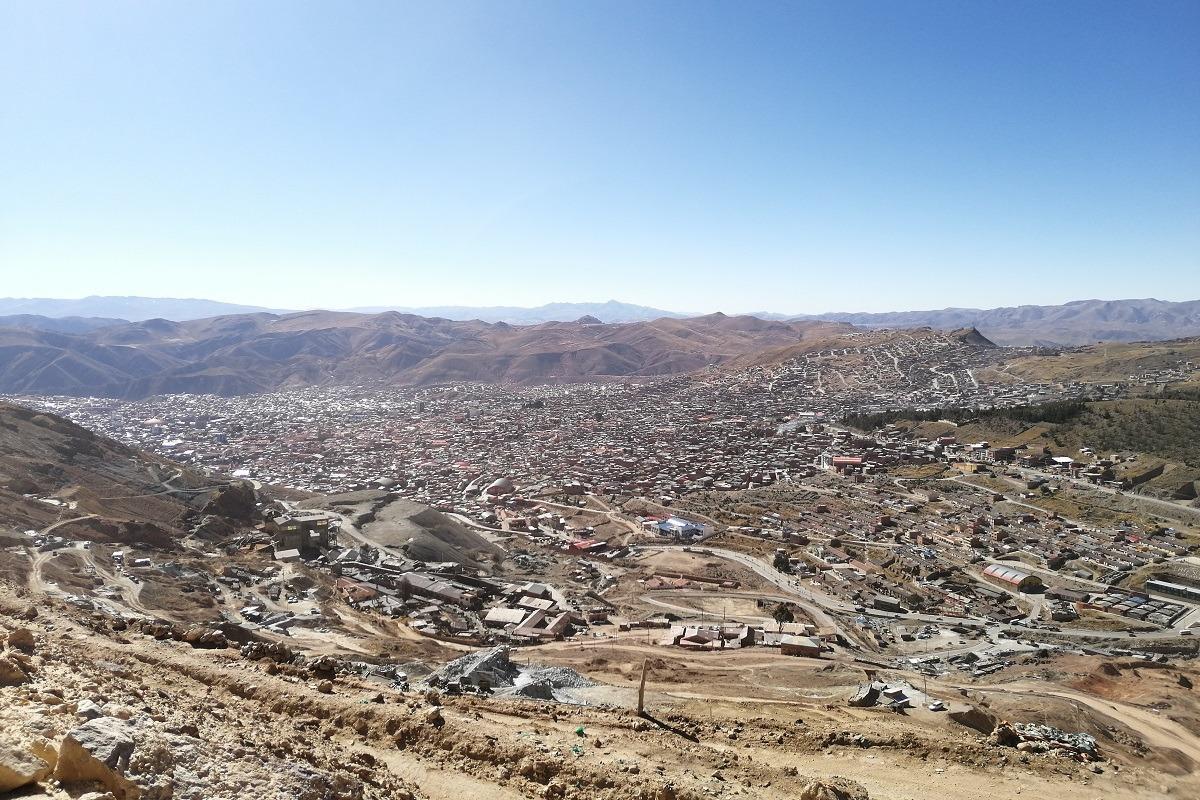 Rudnik srebra v Potosiju naslovna fotka - pogled na Potosu