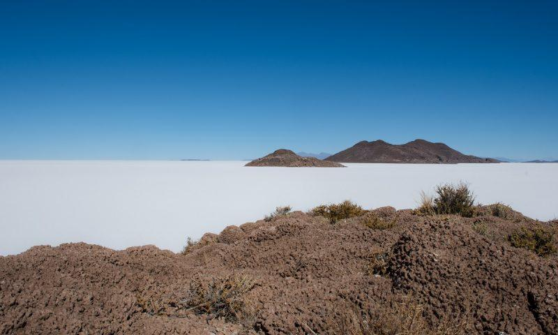 Plan potovanja za Bolivijo naslovna slika - slana puščava