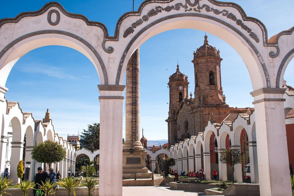 Plan potovanja za Bolivijo - trg v Potosiju