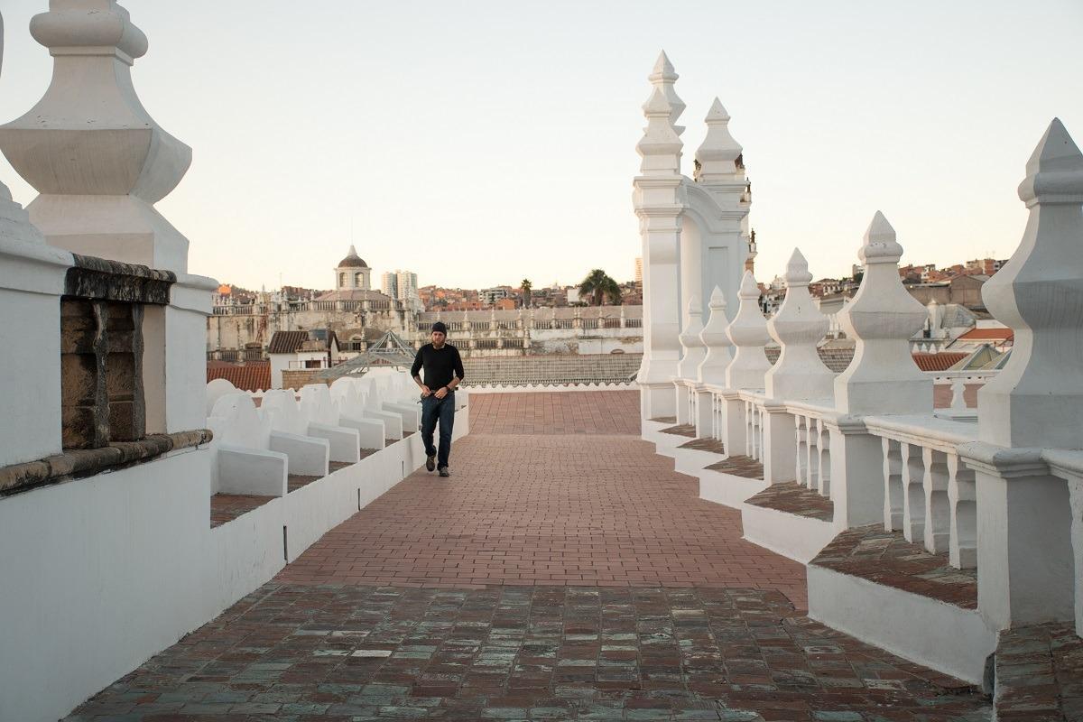 Streha katedrale v Sucreju