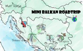 Mini roadtrip po Balkanu - naslovna fotografija