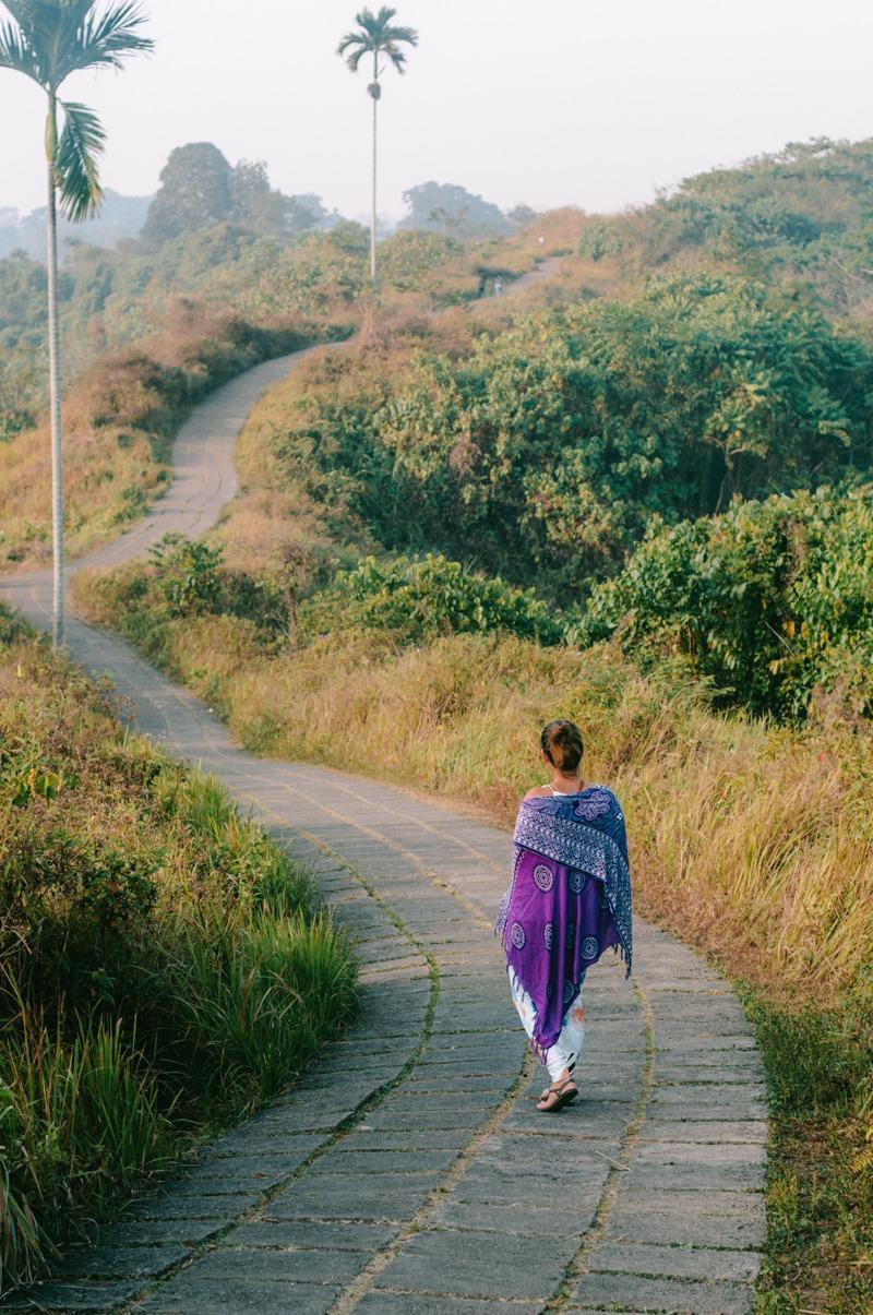 Sandra na Cempuhan Ridge (ena izmed stvari, ki jih lahko počneš v Ubudu)
