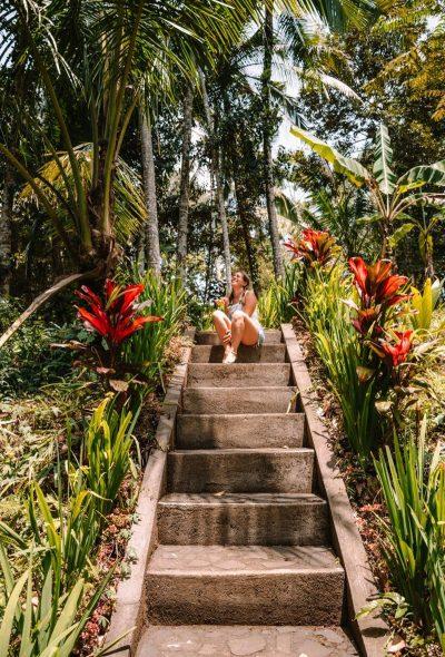Kamnite stopnice v tropskem gozdu - izleti po okolici, so ena izmed stvari, ki jih lahko počneš v Ubudu