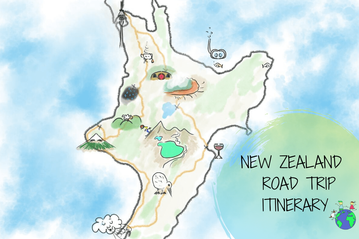 New Zealand North Island Road Trip_cover photo