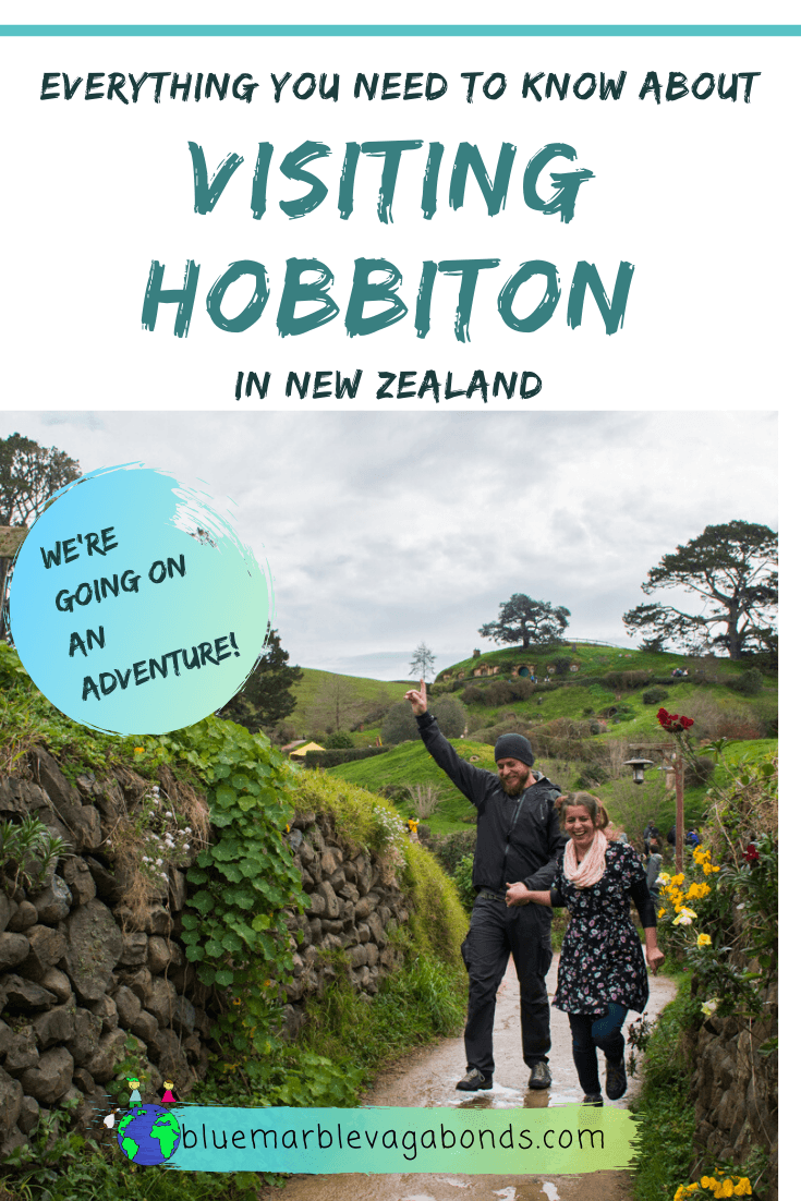 Visiting Hobbiton - pinterest graphic 1