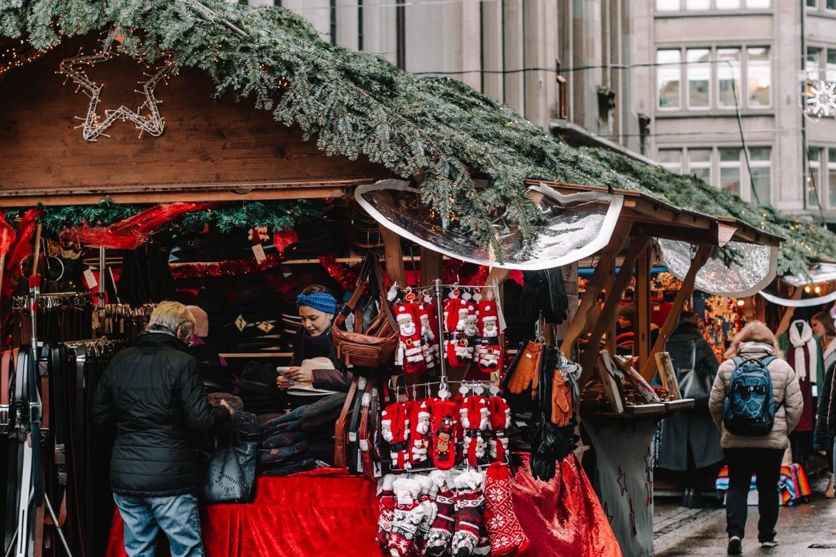 Božični sejem v Zürichu - mestni sejem