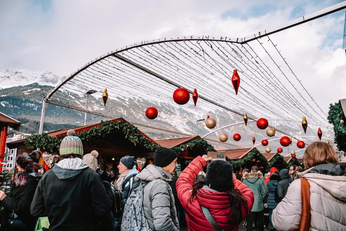 Gneča na božičnem sejmu