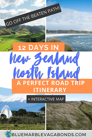 Pin for New Zealand North Island Road Trip Itinerary