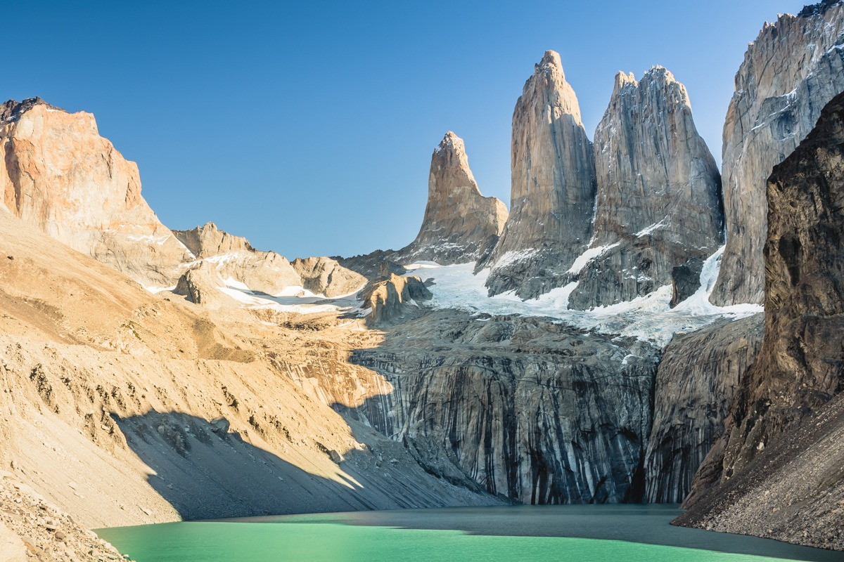 Base de las Torres (best time to visit Torres del Paine)