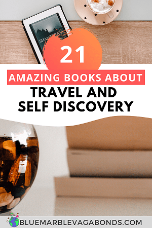 Books about travel and self discovery pin