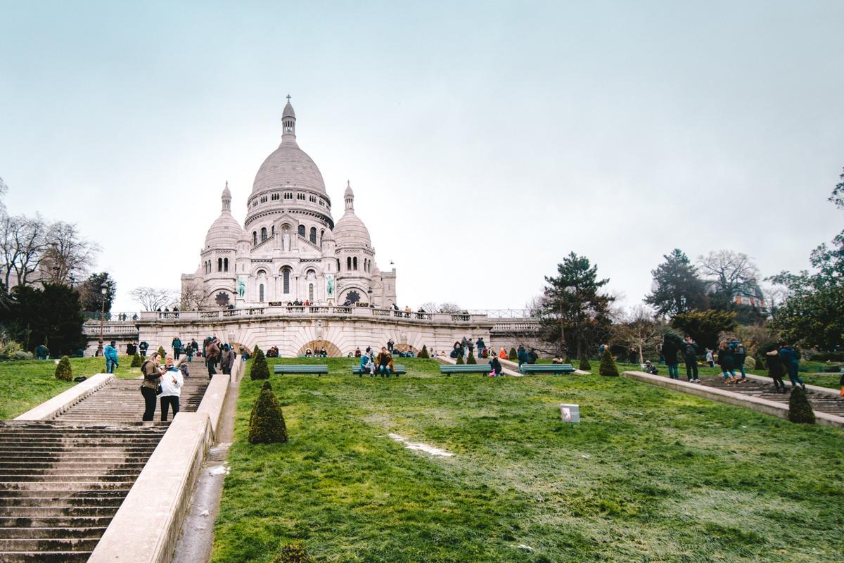 Francija - bazilika Sacre Coeur, Parizo