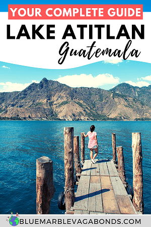 Lake Atitlan guide pin