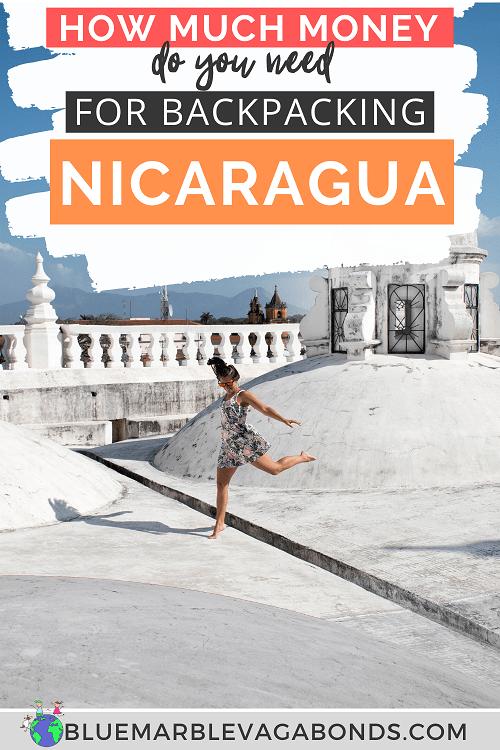 Nicaragua travel budget pin