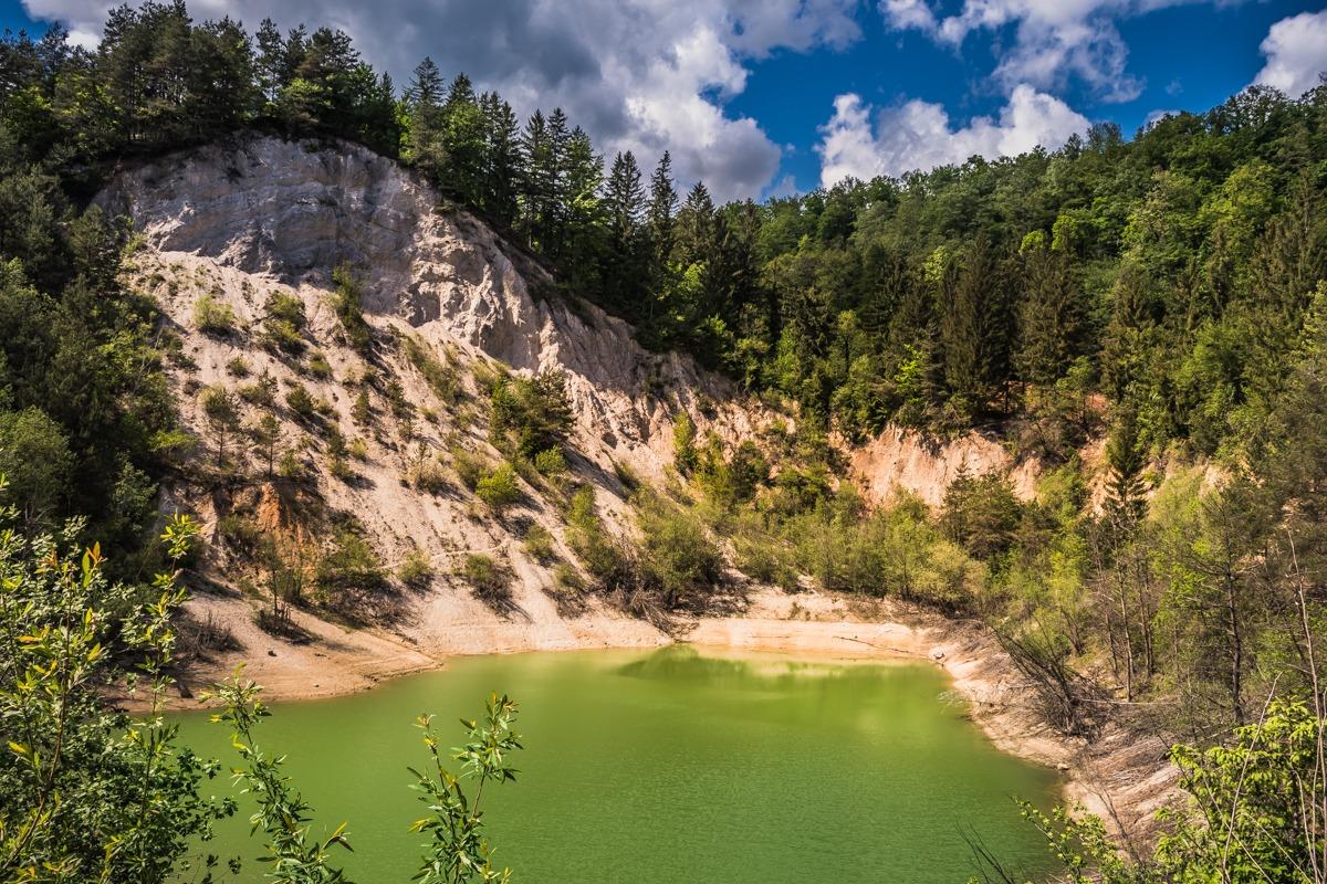 Jezerce pri Valični vasi (Izlet izvir Krke - NM)