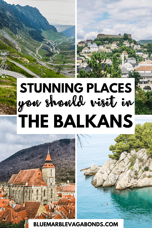 Stunning Balkan destinations pin