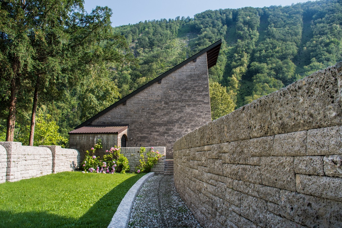 German Ossuary in Tolmin (one of the attractions in Tolmin besides Tolmin Gorge)