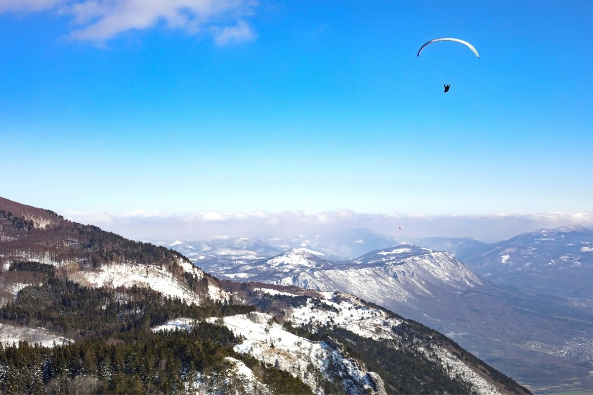 Paragliding Slovenia, one of the top outdoor adventures in Slovenia