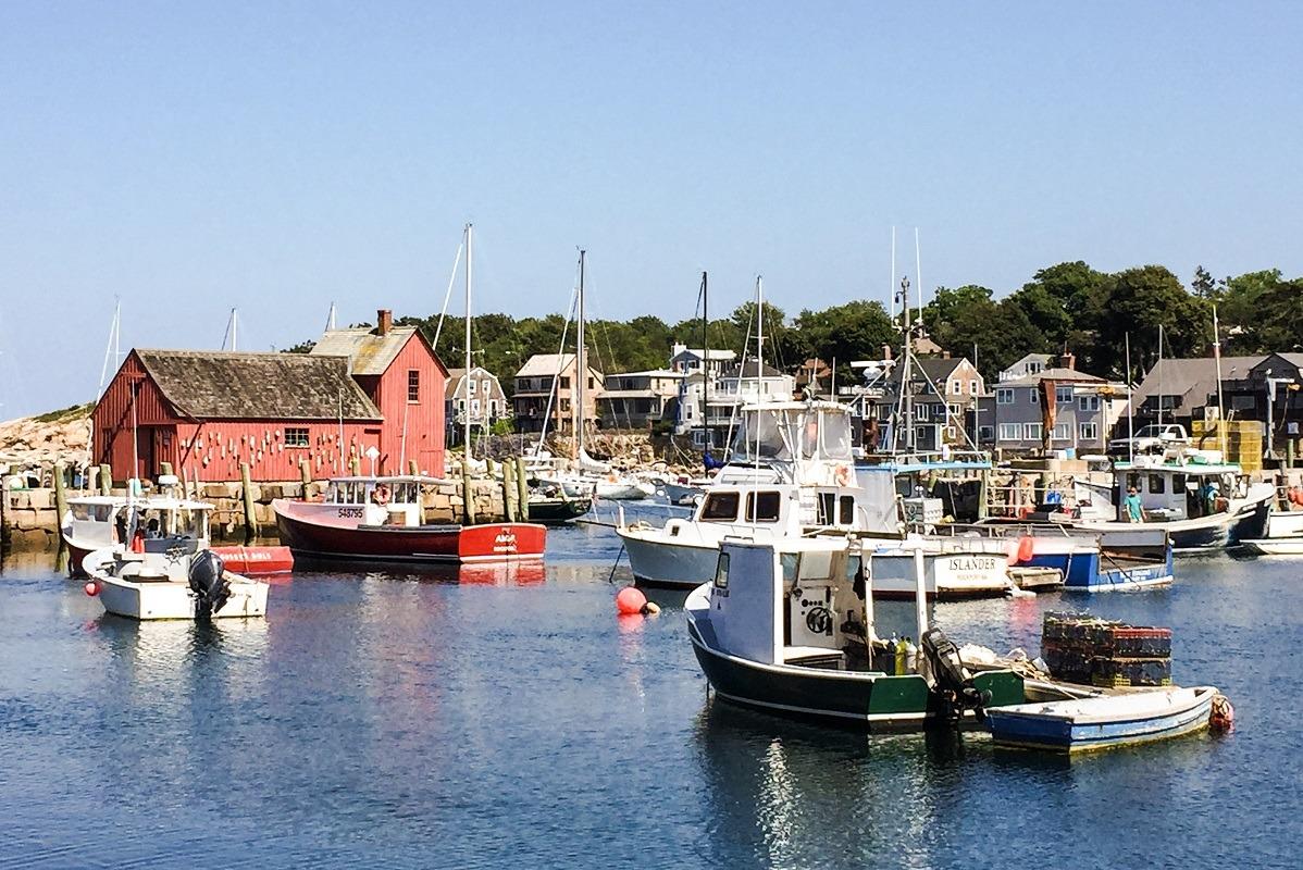 Rockport harbor, MA