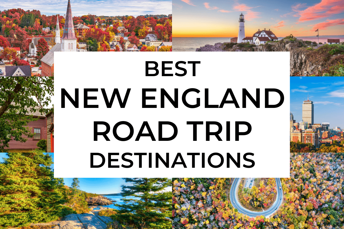 Best New England road trip destinations cover photo