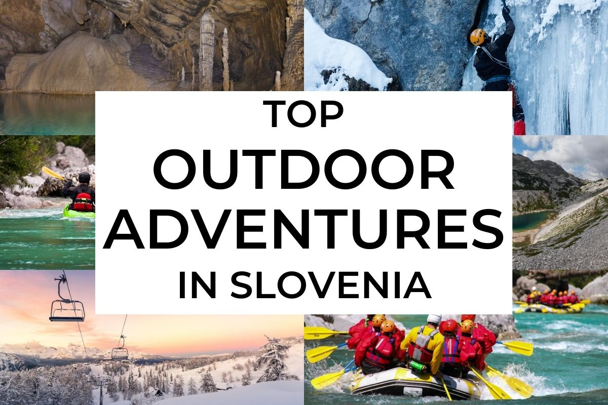 Top outdoor adventures in Slovenia cover photo
