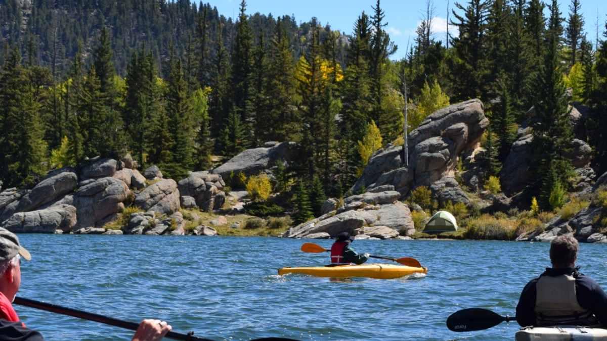 Kayaking in Deer Isle in Maine