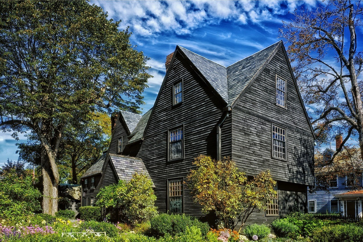 House of seven gables in Salem, one of best destinations on a New England Road Trip