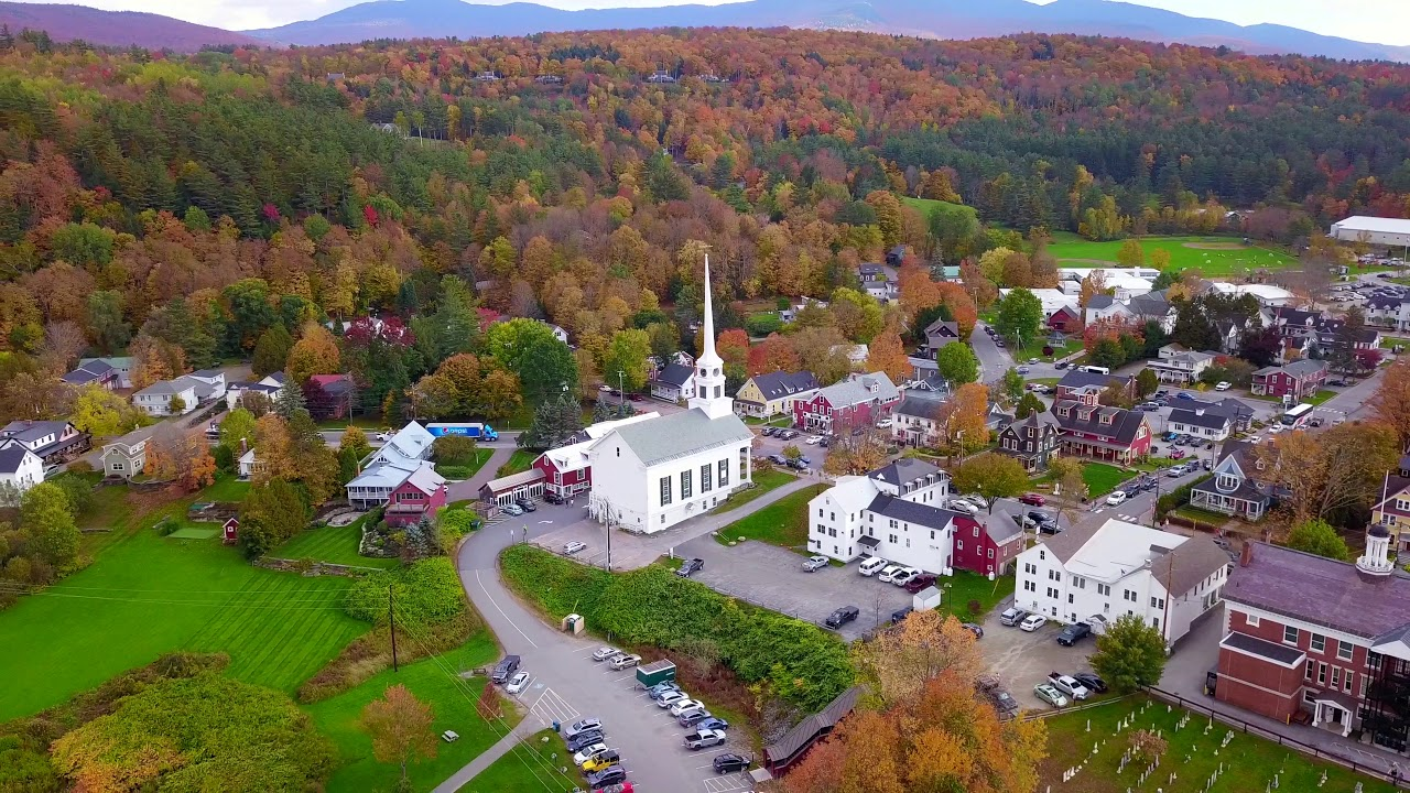 Stowe, Vermont - a cute town to visit on a New England Road Trip