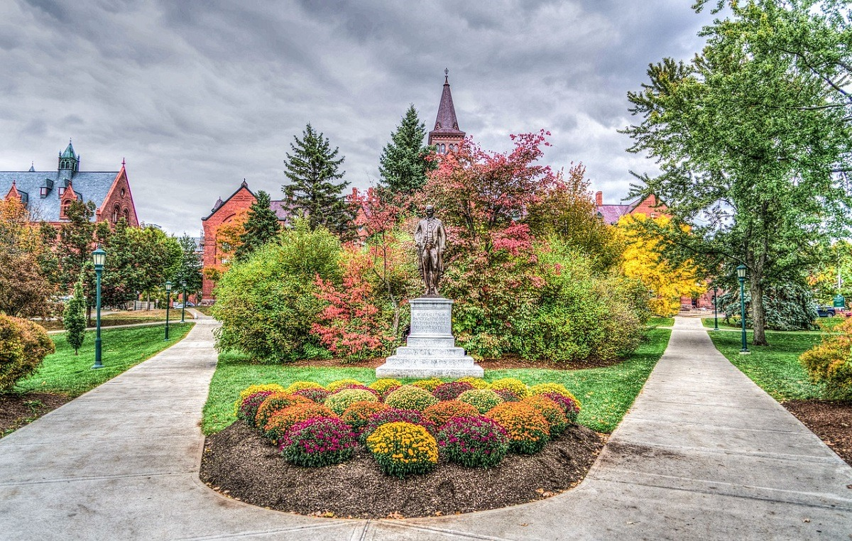 University of Vermont - stop here on a New England Road Trip!