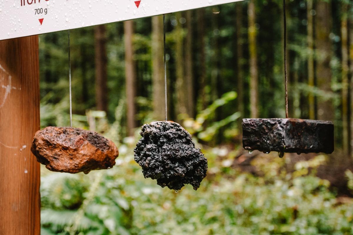 Železova ruda na Cvingerjevi arheološki poti