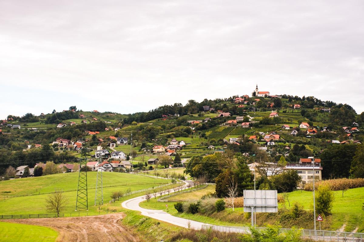 Trška gora v Novem mestu - ena izmed znamenitosti Dolenjske